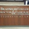 Bradshaw Fowler Proctor & Fairgrave Custom Signage