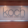 Koch Facial Plastic Surgery Custom Signage