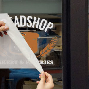 Breadshop Window Graphic