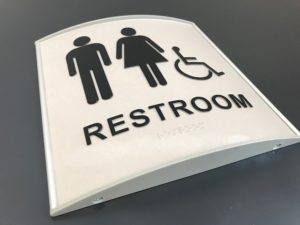 ADA Signage for a Restroom
