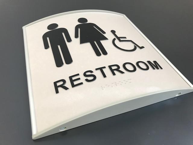 ADA Signage for a Restroom