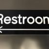 Restroom Engraving