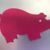 Pig Engraving