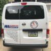 Vinyl American Marking Van