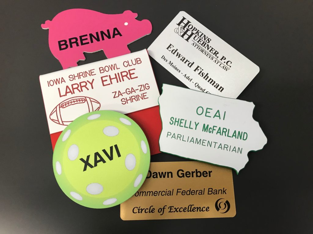 Company ID Badges In Des Moines, Iowa - American Marking Inc. - Custom Signage Company
