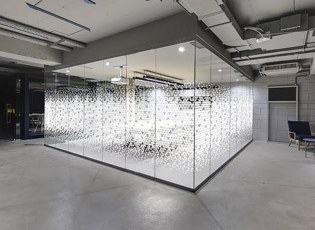 Frosted Glass Vinyl - Des Moines, Iowa - American Marking Inc.