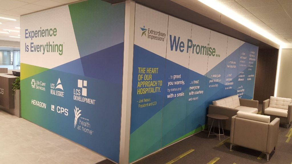 Custom Wall and Window Graphics - Des Moines, Iowa - American Marking Inc.