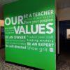 Values Wall
