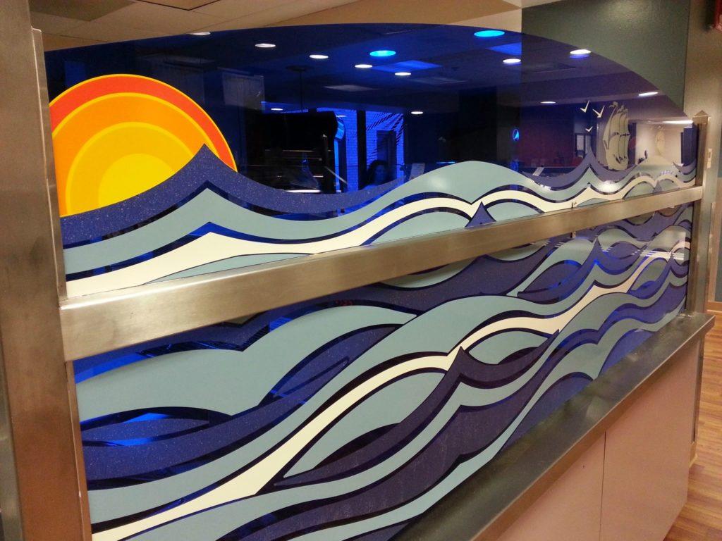 Custom Wall Graphics and Murals - American Marking Inc - Iowa