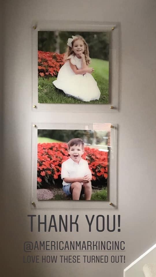 Custom Acrylic Signs - American Marking Inc - Acrylic Pictures